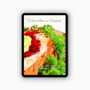 "Cartea de Retete Vegane ""De la Alina cu dragoste"""